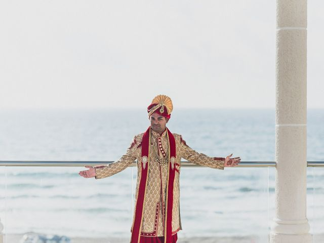 Rikesh and Pooja's Wedding in Cancun, Mexico 164