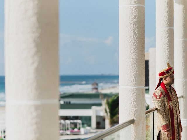 Rikesh and Pooja's Wedding in Cancun, Mexico 165