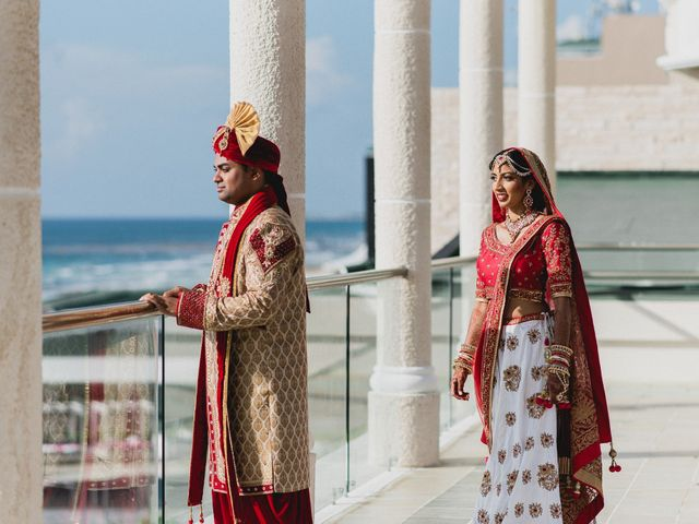 Rikesh and Pooja's Wedding in Cancun, Mexico 166