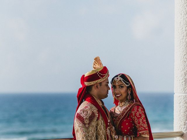 Rikesh and Pooja's Wedding in Cancun, Mexico 172