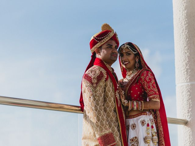 Rikesh and Pooja's Wedding in Cancun, Mexico 173