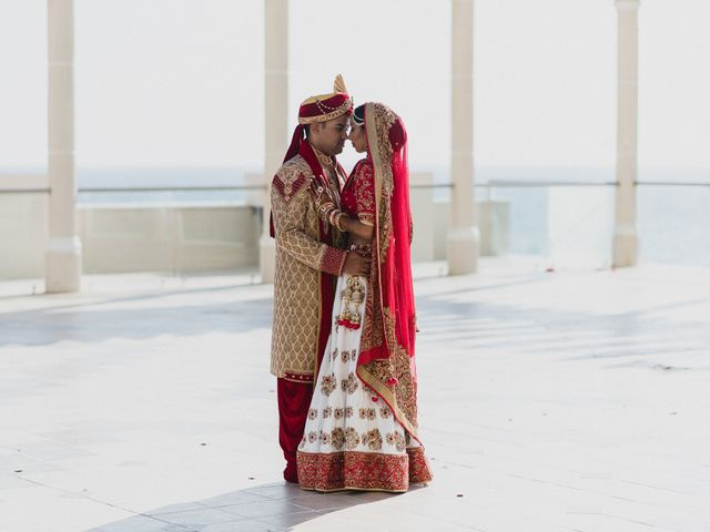 Rikesh and Pooja's Wedding in Cancun, Mexico 174