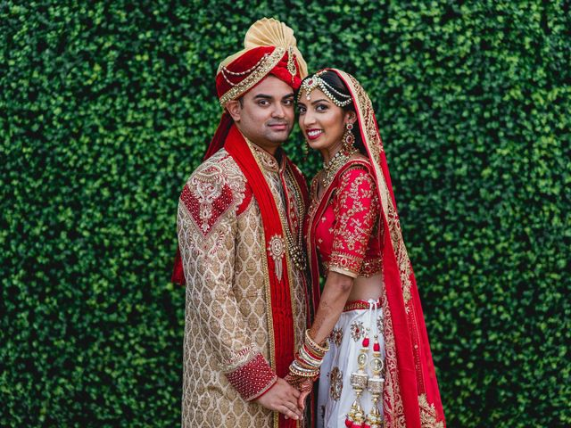The wedding of Pooja and Rikesh