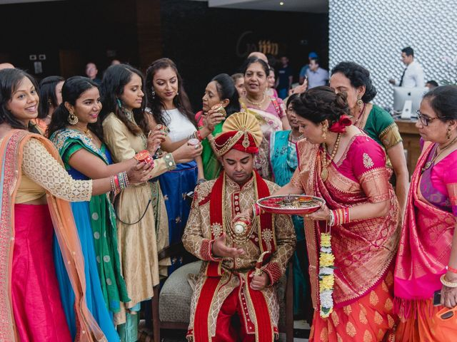 Rikesh and Pooja's Wedding in Cancun, Mexico 180