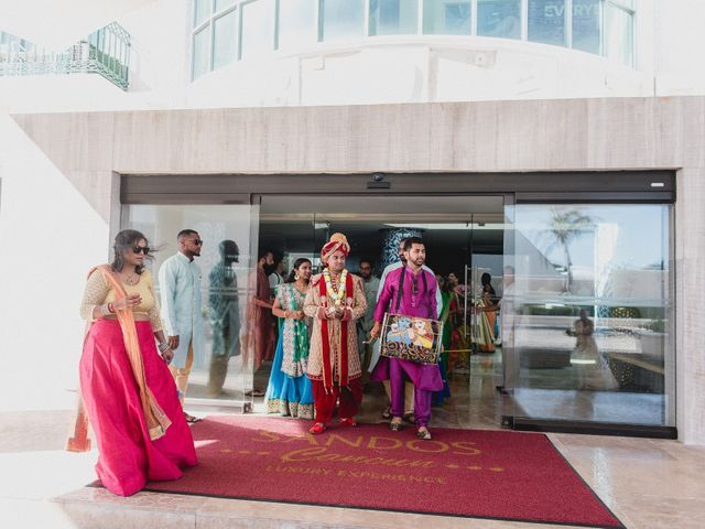 Rikesh and Pooja's Wedding in Cancun, Mexico 182