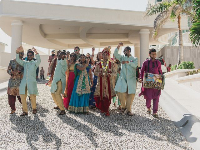 Rikesh and Pooja's Wedding in Cancun, Mexico 183