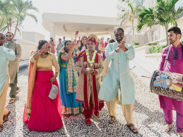 Rikesh and Pooja's Wedding in Cancun, Mexico 184