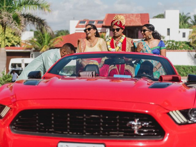 Rikesh and Pooja's Wedding in Cancun, Mexico 185