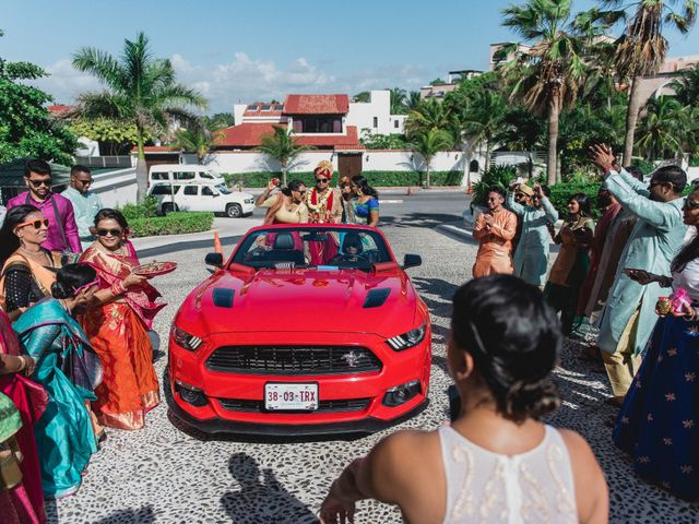 Rikesh and Pooja's Wedding in Cancun, Mexico 186