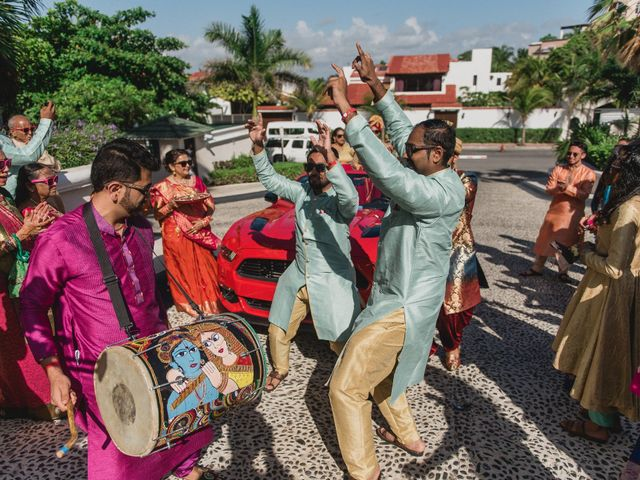 Rikesh and Pooja's Wedding in Cancun, Mexico 187