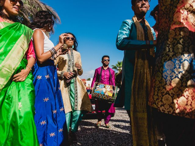 Rikesh and Pooja's Wedding in Cancun, Mexico 188