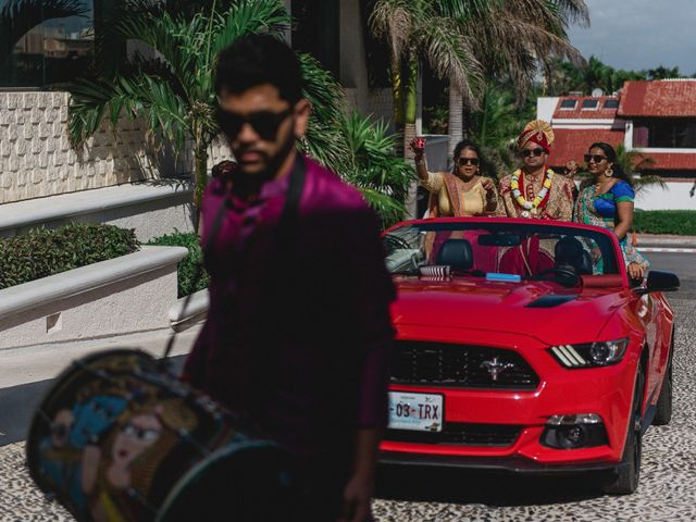 Rikesh and Pooja's Wedding in Cancun, Mexico 190