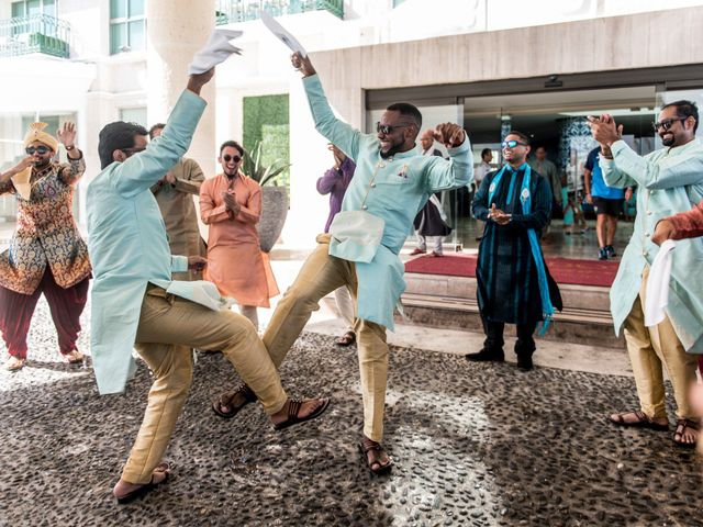 Rikesh and Pooja's Wedding in Cancun, Mexico 192