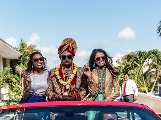 Rikesh and Pooja's Wedding in Cancun, Mexico 193
