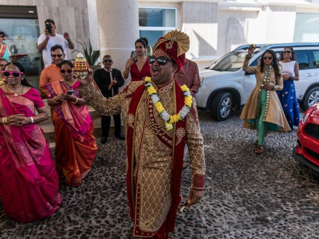 Rikesh and Pooja's Wedding in Cancun, Mexico 194