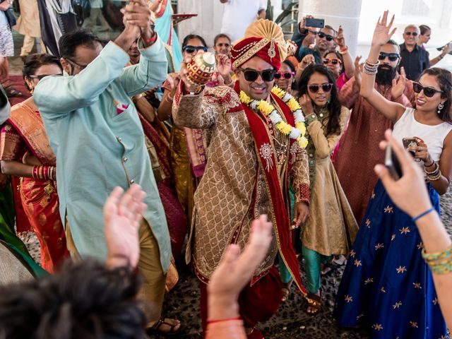 Rikesh and Pooja's Wedding in Cancun, Mexico 195