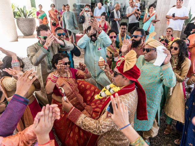 Rikesh and Pooja's Wedding in Cancun, Mexico 197