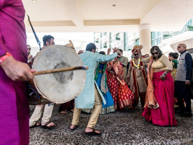 Rikesh and Pooja's Wedding in Cancun, Mexico 199