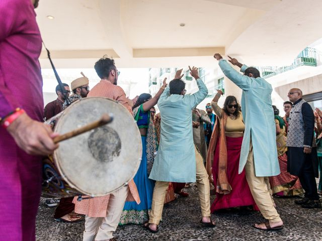 Rikesh and Pooja's Wedding in Cancun, Mexico 200
