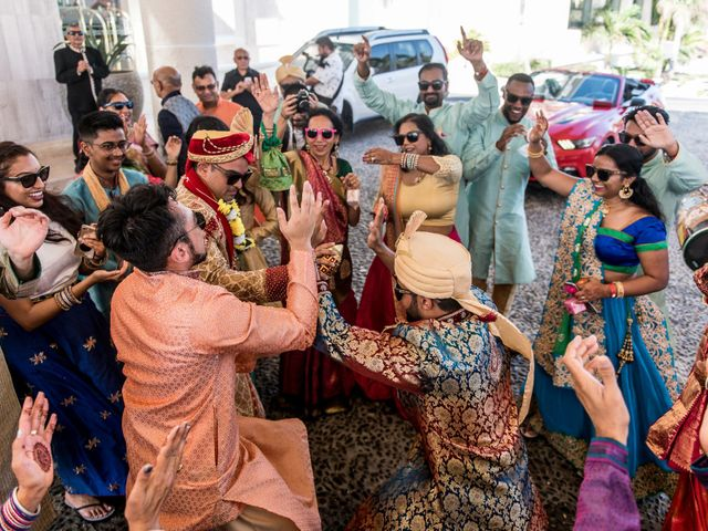 Rikesh and Pooja's Wedding in Cancun, Mexico 201
