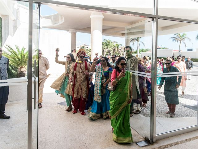 Rikesh and Pooja's Wedding in Cancun, Mexico 203