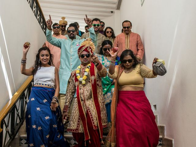Rikesh and Pooja's Wedding in Cancun, Mexico 204