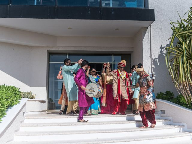 Rikesh and Pooja's Wedding in Cancun, Mexico 207