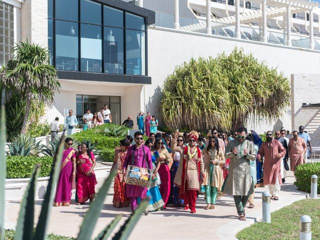 Rikesh and Pooja's Wedding in Cancun, Mexico 209