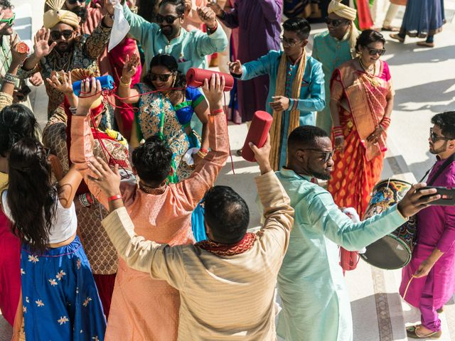 Rikesh and Pooja's Wedding in Cancun, Mexico 210