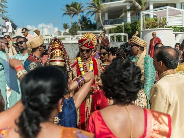 Rikesh and Pooja's Wedding in Cancun, Mexico 211