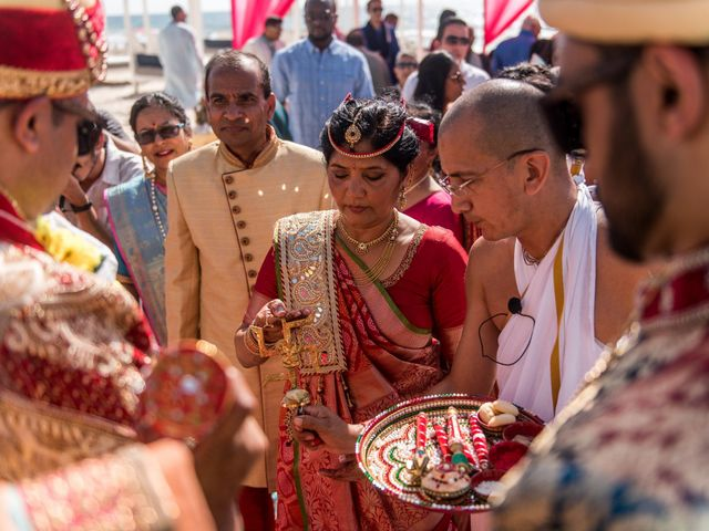 Rikesh and Pooja's Wedding in Cancun, Mexico 213