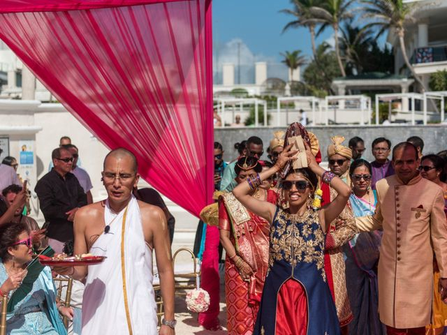 Rikesh and Pooja's Wedding in Cancun, Mexico 216