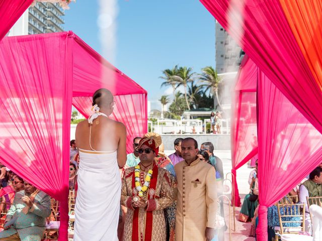 Rikesh and Pooja's Wedding in Cancun, Mexico 218