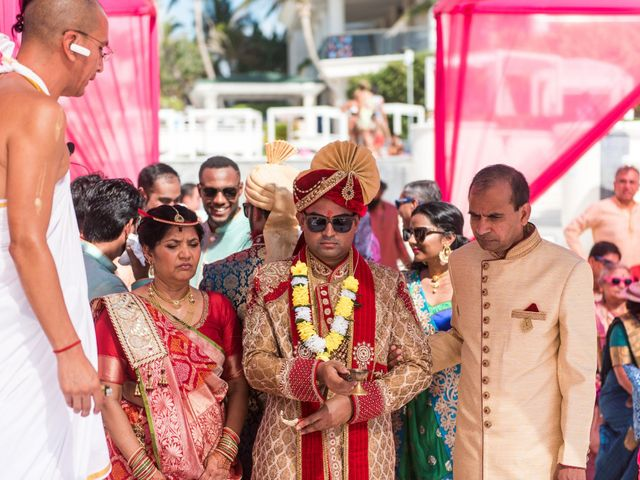 Rikesh and Pooja's Wedding in Cancun, Mexico 219