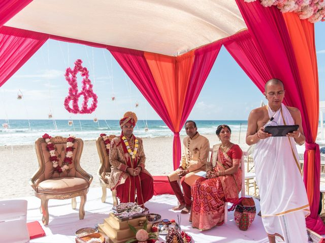 Rikesh and Pooja's Wedding in Cancun, Mexico 220