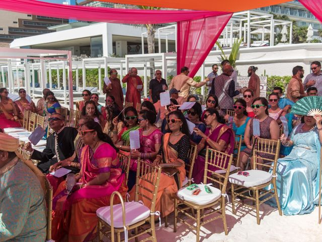 Rikesh and Pooja's Wedding in Cancun, Mexico 221
