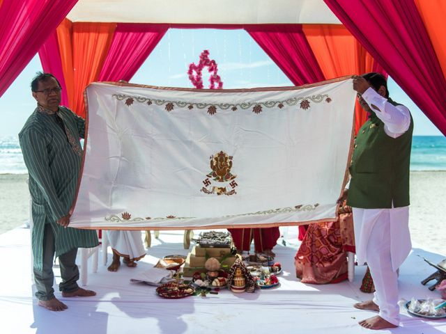 Rikesh and Pooja's Wedding in Cancun, Mexico 222