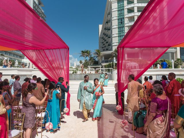 Rikesh and Pooja's Wedding in Cancun, Mexico 223