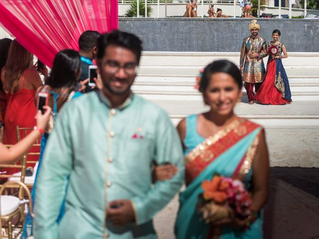 Rikesh and Pooja's Wedding in Cancun, Mexico 224