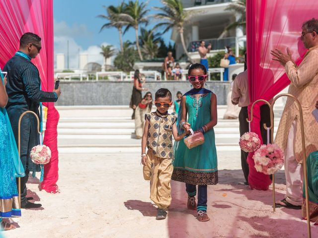 Rikesh and Pooja's Wedding in Cancun, Mexico 225