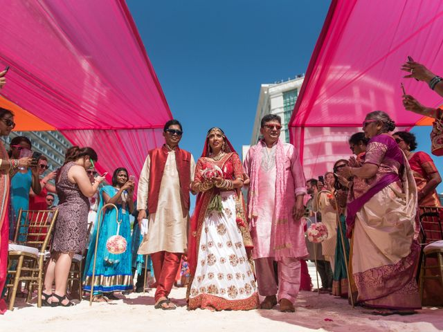 Rikesh and Pooja's Wedding in Cancun, Mexico 227