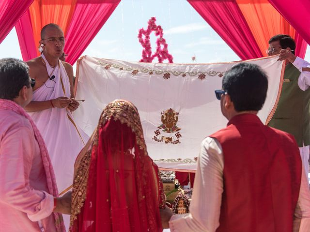 Rikesh and Pooja's Wedding in Cancun, Mexico 228
