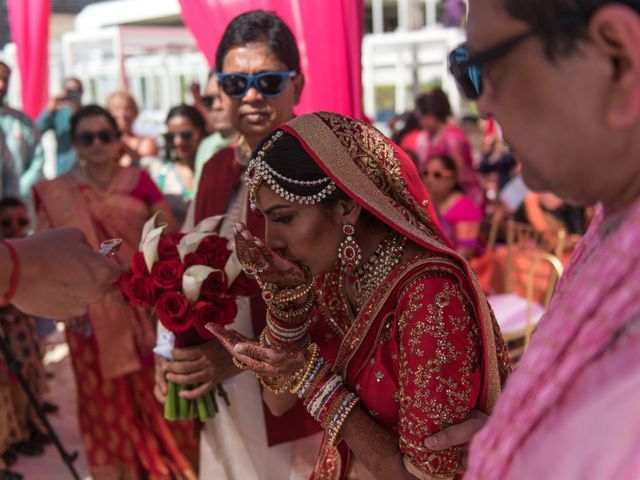 Rikesh and Pooja's Wedding in Cancun, Mexico 229