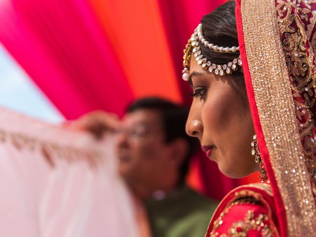 Rikesh and Pooja's Wedding in Cancun, Mexico 230