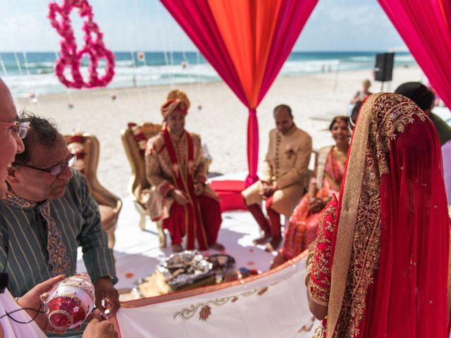 Rikesh and Pooja's Wedding in Cancun, Mexico 231