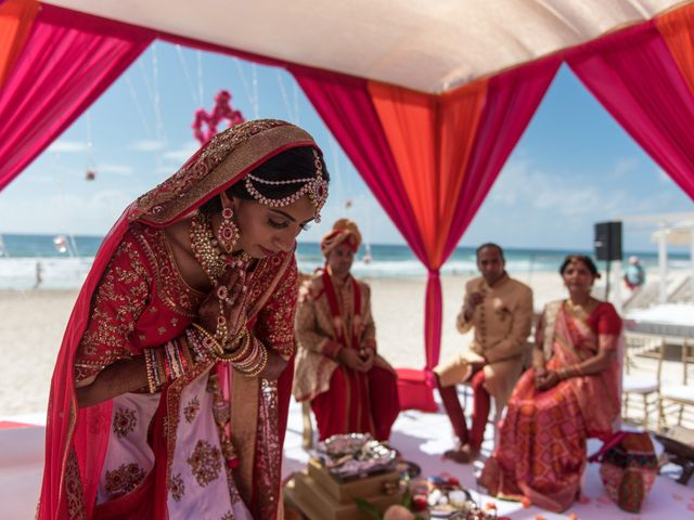 Rikesh and Pooja's Wedding in Cancun, Mexico 232