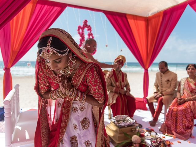 Rikesh and Pooja's Wedding in Cancun, Mexico 233