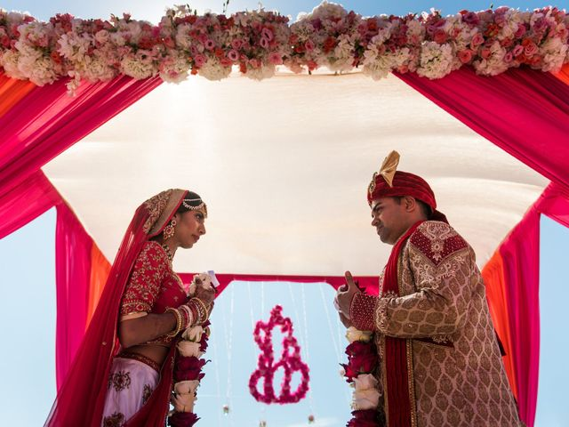 Rikesh and Pooja's Wedding in Cancun, Mexico 234