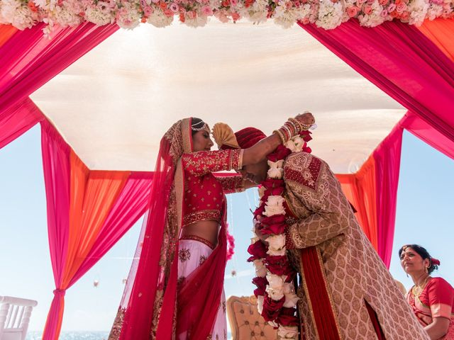 Rikesh and Pooja's Wedding in Cancun, Mexico 235