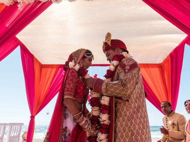 Rikesh and Pooja's Wedding in Cancun, Mexico 237